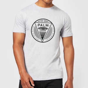 T-Shirt Homme Palm Beach Native Shore - Gris