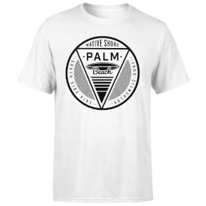 Native Shore Men's Palm Beach T-Shirt - White