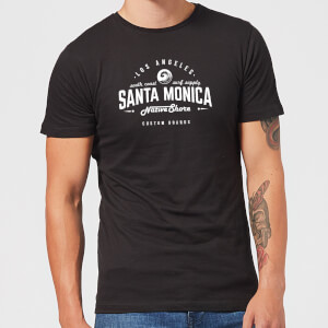 Native Shore Men's Santa Monica T-Shirt - Black