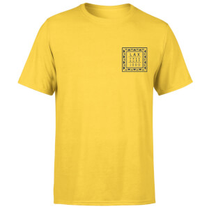 Native Shore Men's LAX Free Surf T-Shirt - Yellow