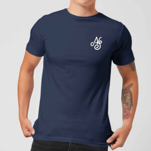 Native Shore Men's Essential Script T-Shirt - Navy