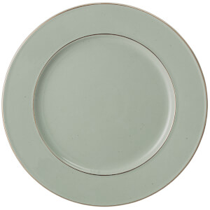 Bloomingville Spring Stoneware Plate - Green