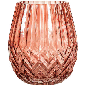 Bloomingville Glass Vase - Red