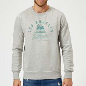 Native Shore Los Angeles Surfwear Sweatshirt - Grey