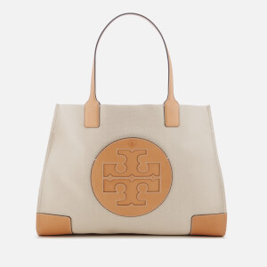 Tory Burch Women's Ella Canvas Tote Bag - Natural/Ivory