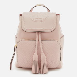 Tory Burch Women's Fleming Backpack - Shell Pink: Image 1