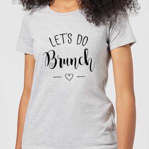 Lets Do Brunch Women's T-Shirt - Grey