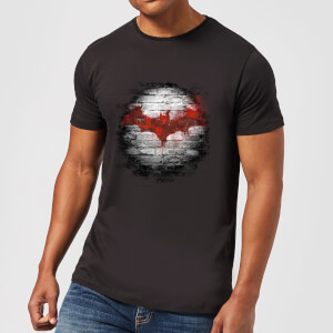 DC Comics Batman Logo Wall T-Shirt in Black