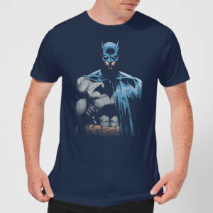 DC Comics Batman Close Up T-Shirt - Navy