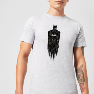 Camiseta DC Comics Batman Brushed - Hombre - Gris