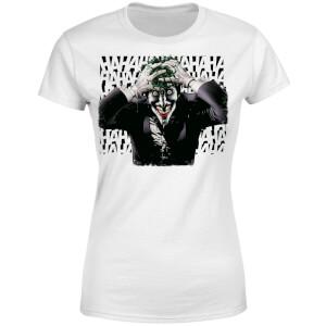 DC Comics Batman Killing Joker HaHaHa Women's T-Shirt - White