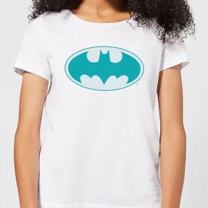 T-Shirt Femme Batman DC Comics - Logo Jade - Blanc