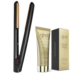 Lot de fer à lisser IV Styler et soin Advanced Split End Therapy ghd