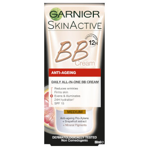 Garnier SkinActive Anti-Ageing BB Cream - Medium 50ml
