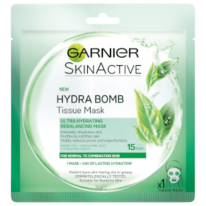 Garnier Skin Naturals Mask Hydra Bomb Green G Aus