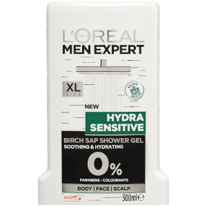 L'Oréal Paris Men Expert Hydra Sensitive Shower Gel 300ml - AU