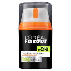 L'Oréal Paris Men Expert Pure Power Moisturiser 50ml - AU
