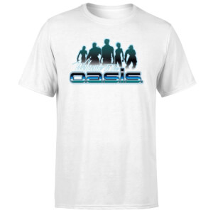 Ready Player One Welcome To The Oasis T-shirt - Wit