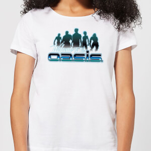 Ready Player One Welcome To The Oasis Dames T-shirt - Wit