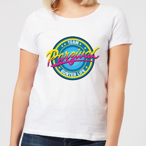 Camiseta Ready Player One Team Parzival - Mujer - Blanco