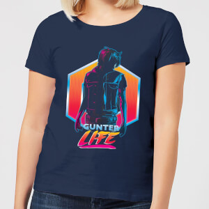 Ready Player One Gunter Life Damen T-Shirt - Navy Blau