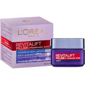 L'Oréal Paris Revitalift Filler Intensive Replumping Night Cream 50ml