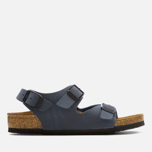 Birkenstock Kids' Roma Double Strap Sandals - Navy