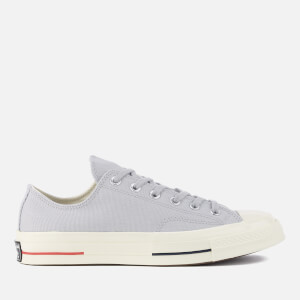 Converse Men's Chuck Taylor All Star '70 Ox Trainers - Wolf Grey/Navy/Gym Red