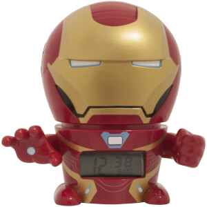 BulbBotz Marvel Avengers: Infinity Wars Iron Man Night Light Alarm Clock