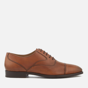 PS by Paul Smith Men's Tompkins Leather Toe Cap Oxford Shoes - Tan