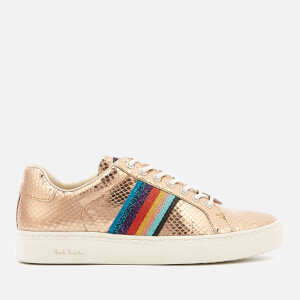 Paul Smith Women's Lapin Cupsole Trainers - Gold