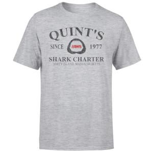 Jaws Quint's Shark Charter T-Shirt - Grey