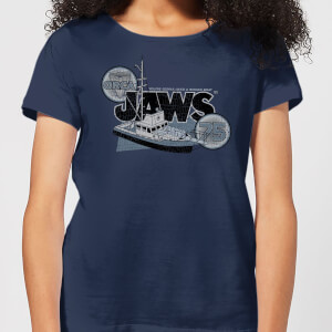 Jaws Orca 75 Dames T-shirt - Navy