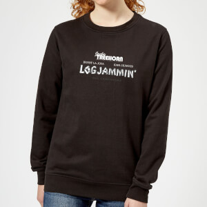 The Big Lebowski Logjammin Damen Pullover - Schwarz
