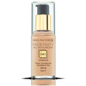 Max Factor Facefinity 3 in 1 All Day Flawless Foundation 30ml - 47 Nude