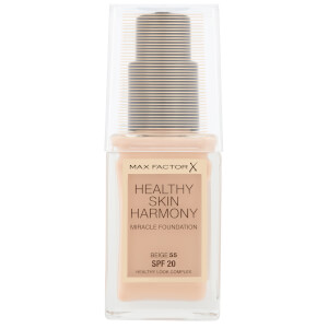 Max Factor Healthy Skin Harmony Foundation -meikkivoide 30ml, 55 Beige
