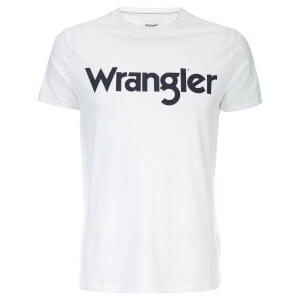 Wrangler Men's Logo T-Shirt - White