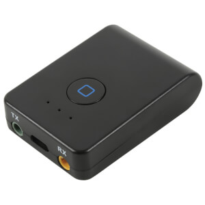 AV: Link 2-in-1 Bluetooth Transmitter and Receiver Device - Black