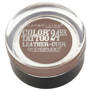 Maybelline Color Tattoo Leather 24HR Cream Gel Eye Shadow - Creamy Beige