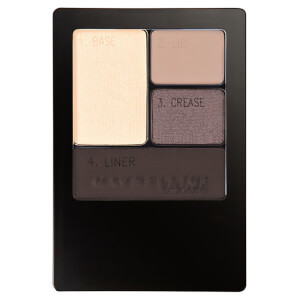 Maybelline Expertwear Quad Eye Shadow - 10 Mocha Motion 4.8g