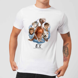ET Painted Portrait T-Shirt - Weiß