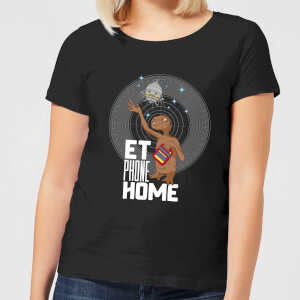 ET E.T. Phone Home Women's T-Shirt - Black
