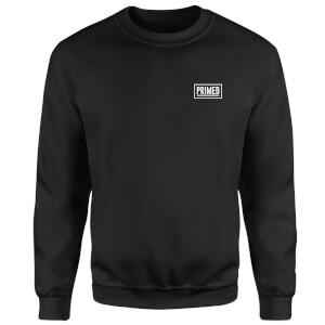 Primed Guardian Crew Neck Sweatshirt - Black