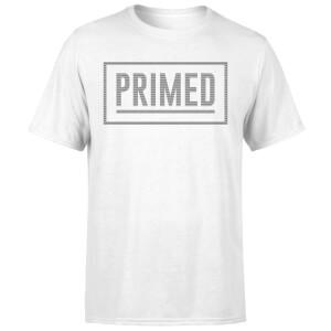 Primed Box Logo T-Shirt - White