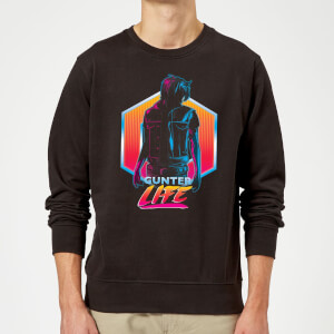 Sweat Homme Ready Player One - Gunter Life - Noir