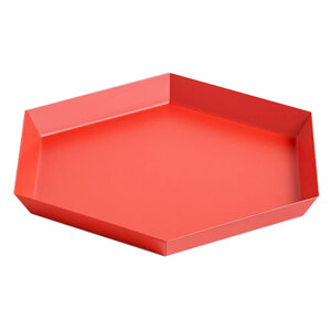 HAY Kaleido Tray - Small - Red