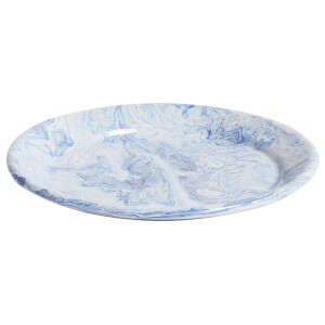 HAY Soft Ice Dinner Plate - Blue