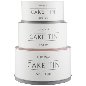 Mason Cash Innovative Kitchen Cake Tins (Set of 3)