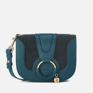 See By Chloé Women's Hana Leather Cross Body Bag - Steel Blue