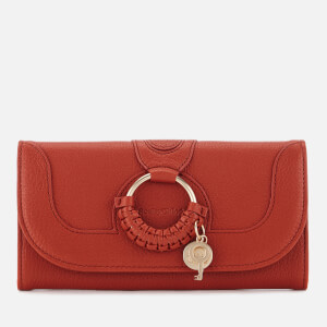 See By Chloé Women's Hana Long Wallet - Red Sand
